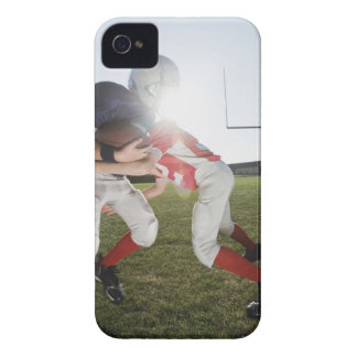 Football player tackling opponent Case-Mate iPhone 4 case