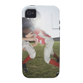 Football player tackling opponent Case-Mate iPhone 4 covers