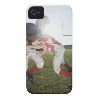 Football player tackling opponent iPhone 4 cover