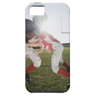 Football player tackling opponent iPhone 5 covers
