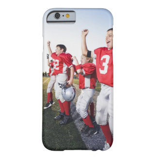 Football players cheering on sideline barely there iPhone 6 case