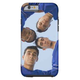 Football players huddled together tough iPhone 6 case