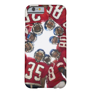 Football Players in Huddle Barely There iPhone 6 Case