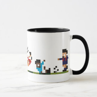 Football Players Mug - Pixelated Sensible Soccer