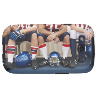Football Players on Bench 2 Samsung Galaxy SIII Covers
