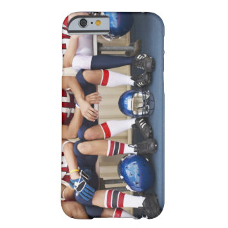 Football Players on Bench 2 Barely There iPhone 6 Case
