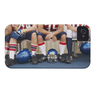 Football Players on Bench 2 Case-Mate iPhone 4 Case