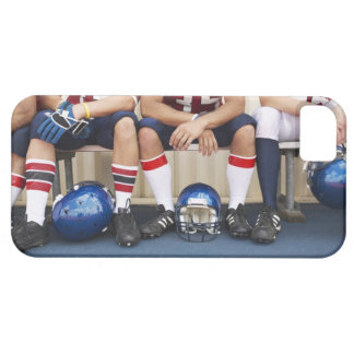 Football Players on Bench 2 iPhone 5 Cases