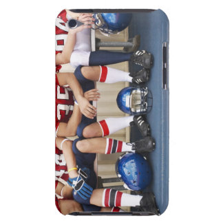 Football Players on Bench 2 iPod Touch Covers