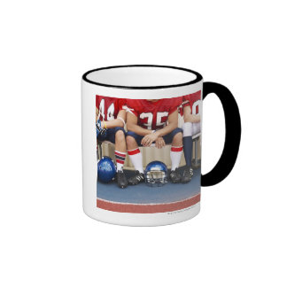 Football Players on Bench 2 Mug