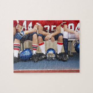 Football Players on Bench 2 Puzzles