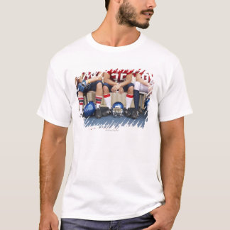 Football Players on Bench 2 T-Shirt