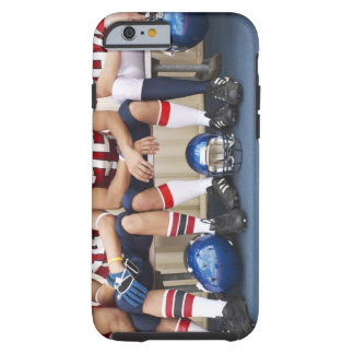 Football Players on Bench 2 Tough iPhone 6 Case