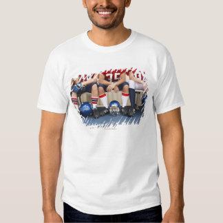 Football Players on Bench 2 Tshirt