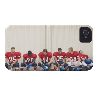 Football Players on Bench iPhone 4 Cover