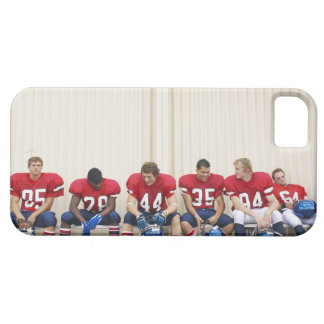 Football Players on Bench iPhone 5 Cases