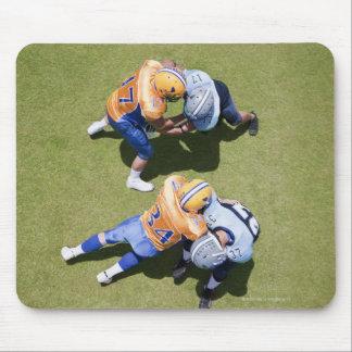 Football players playing football 2 mouse pad