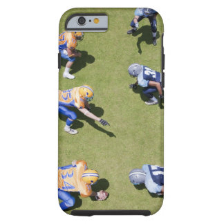 Football players playing football tough iPhone 6 case