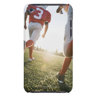 Football players running on field barely there iPod covers