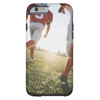 Football players running on field tough iPhone 6 case
