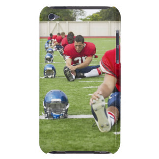 Football Players Stretching Barely There iPod Covers