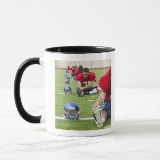 Football Players Stretching Mug