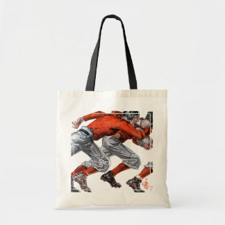 Football Players Tote Bag