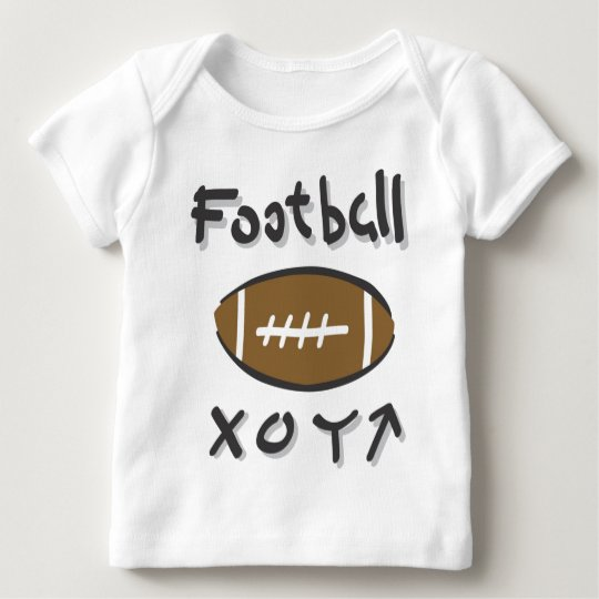 football plays baby T-Shirt