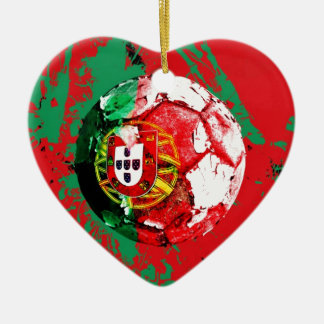 football portugal christmas ornament