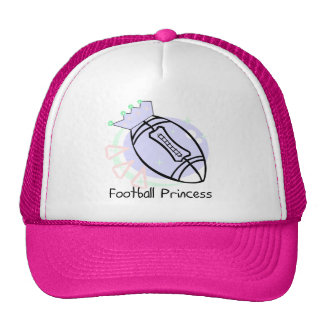 Football Princess T-shirts and Gifts Cap
