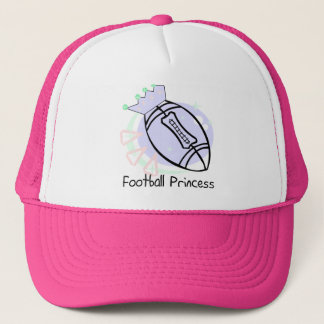Football Princess T-shirts and Gifts Trucker Hat
