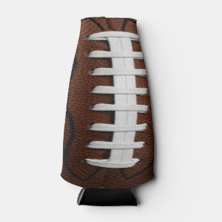 Football Print Pattern Background Bottle Cooler