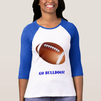 Football raglan shirt