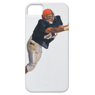 Football receiver catching ball 2 iPhone 5 cover