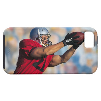 Football receiver catching ball tough iPhone 5 case