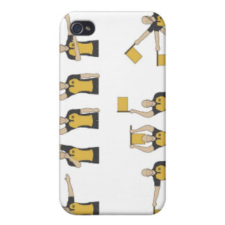 Football referees' signals iPhone 4/4S case