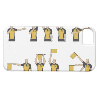 Football referees' signals iPhone 5 covers