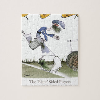 football right wing blue kit jigsaw puzzle