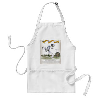 football right wing blue white kit standard apron