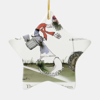 football right wing red kit christmas ornament