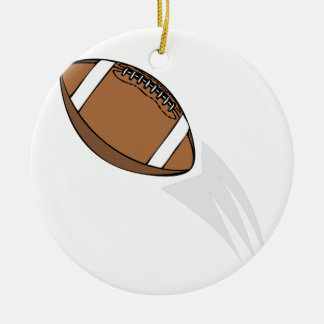 Football Round Ceramic Decoration