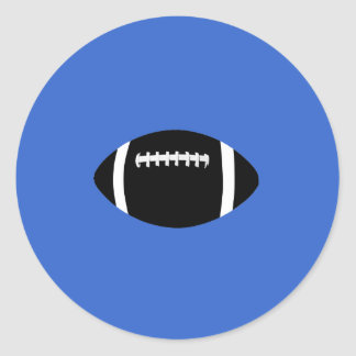 Football Round Sticker
