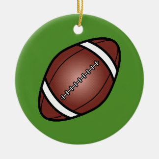 Football Rugby Ball Christmas Ornament