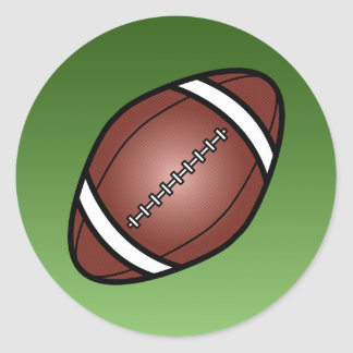 Football Rugby Ball Round Sticker