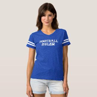 FOOTBALL RULES! Soft Comfy Flirty T-Shirt
