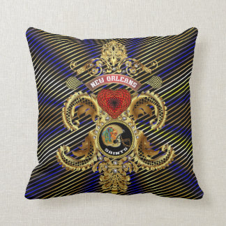 Football Saints Add your image Read About Design Throw Pillows