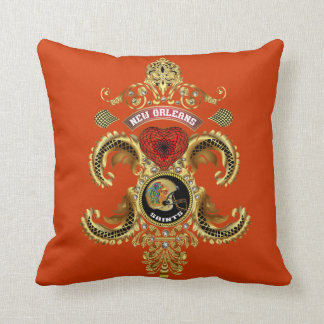 Football Saints Add your image Read About Design Pillow