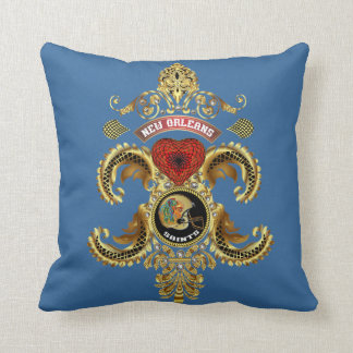 Football Saints Add your image Read About Design Throw Pillow