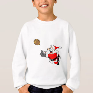 Football Santa Sweatshirt