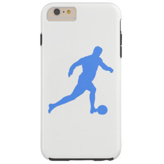 Football Silhouette Tough iPhone 6 Plus Case
